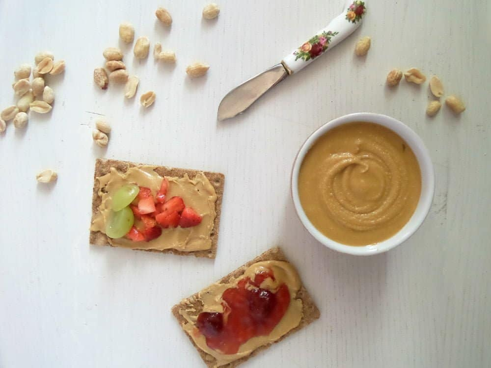 peanut butter homemade How To Roast Peanuts And Make Peanut Butter