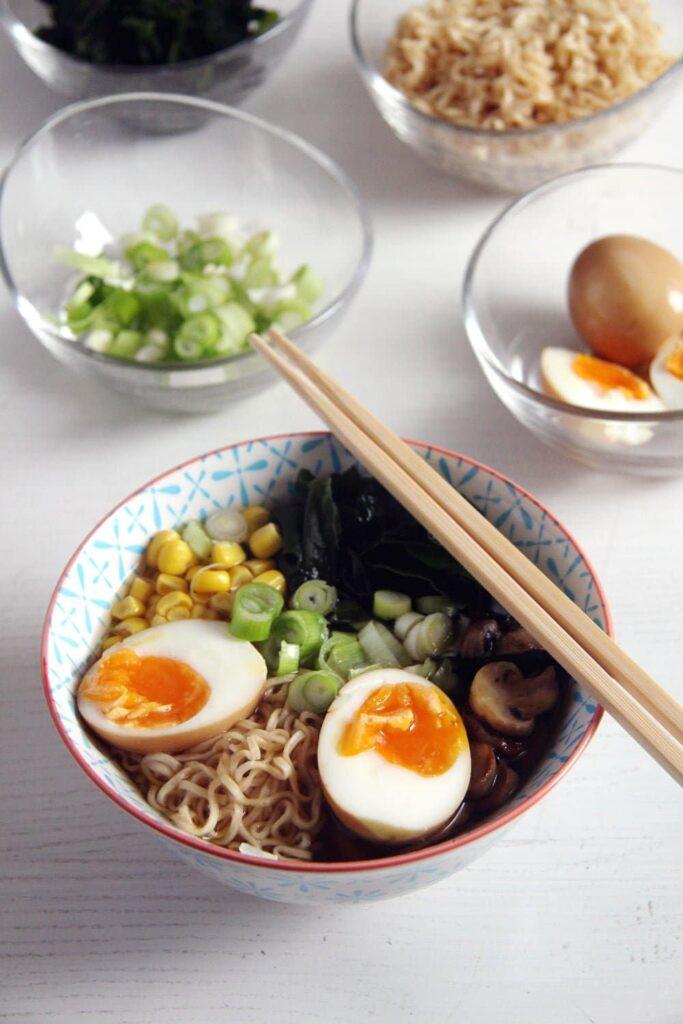 dashi ramen soup 683x1024 How to Make Dashi and Ramen Soup with Mushrooms and Wakame