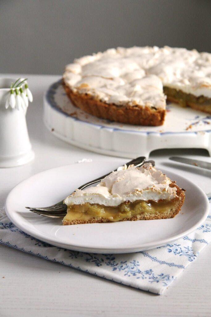 rhubarb pie best 683x1024 The Best Rhubarb Meringue Pie or Rhubarb Tart