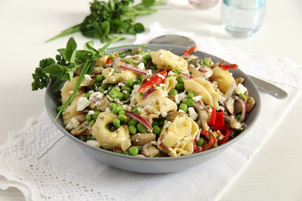 tortellini grill salad Napa Cabbage Salad with Ramen Noodles