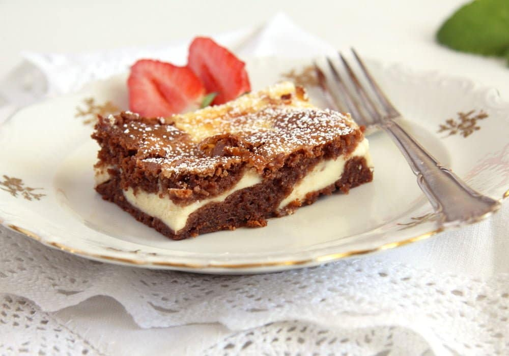 Cheese Cake Brownies