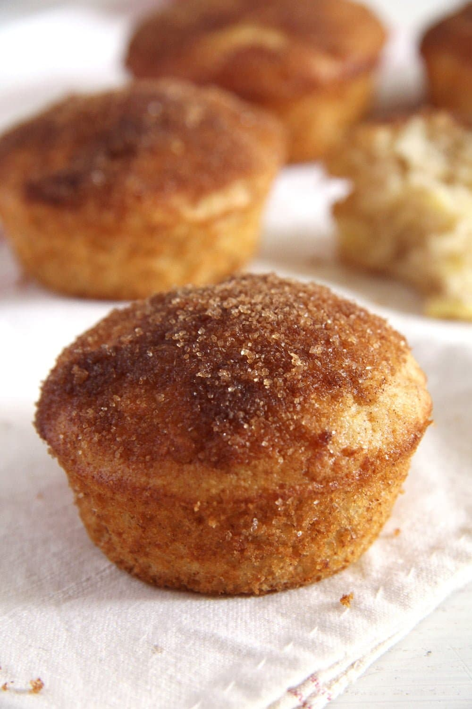 Apple Doughnut Muffins