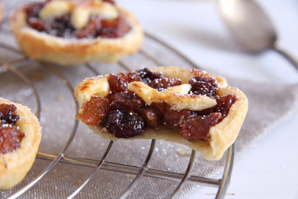mince pies raisins Mincemeat Tarts